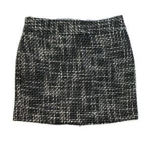 Tommy Hilfiger womens skirt size 2 tweed mini